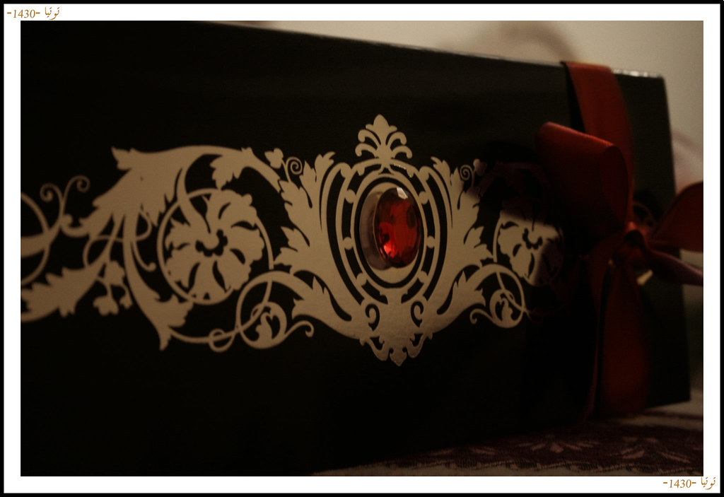 Black Gold Red Wedding Invitation Taghreed Flickr