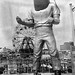 Spaceman Coney Island NYC 1960s