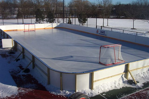Backyard Rink Liner : This Vinyl Material Makes great Backyard Hockey Rink Liner?  Flickr