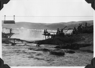Fishing for salmon at Celilo Falls | by OSU Special Collections & Archives : Commons