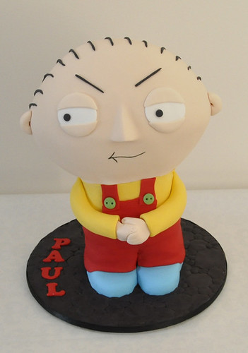 Stewie Cake for Paul | by Nati's Cakes