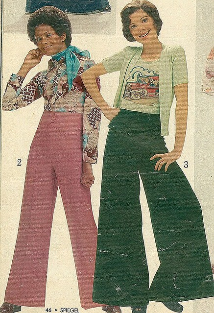 Teens in the 70s | We called them elephant pants ...
