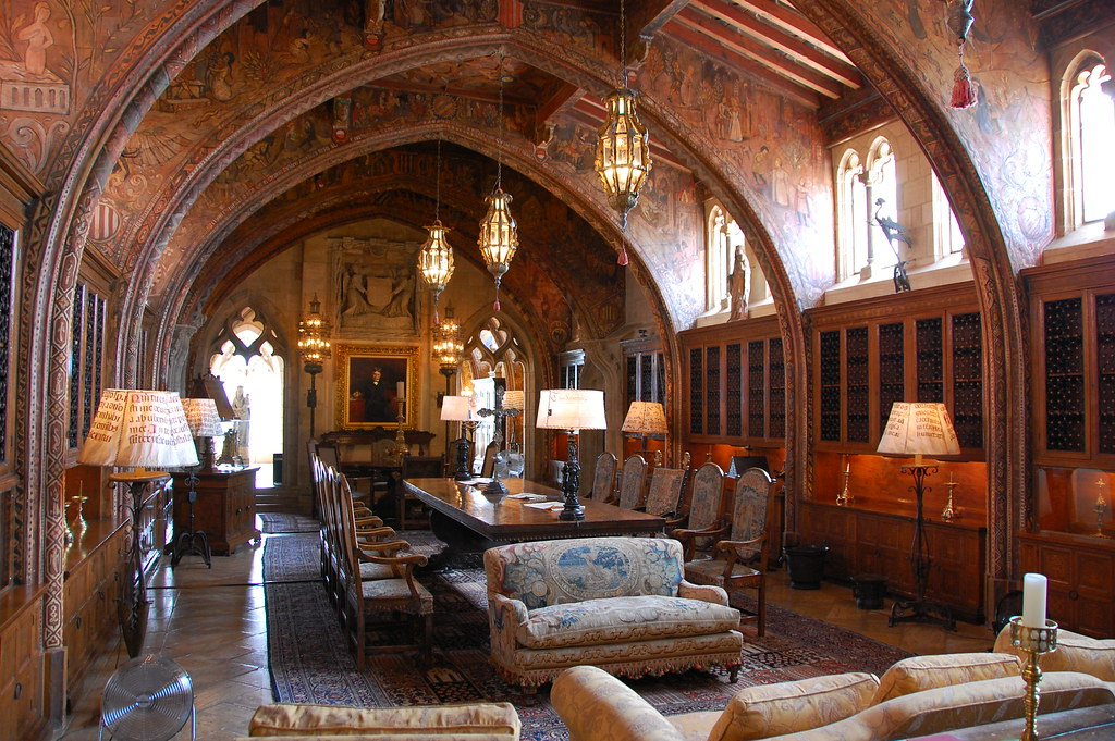 The Gothic Suite in Hearst Castle | MaxVT | Flickr