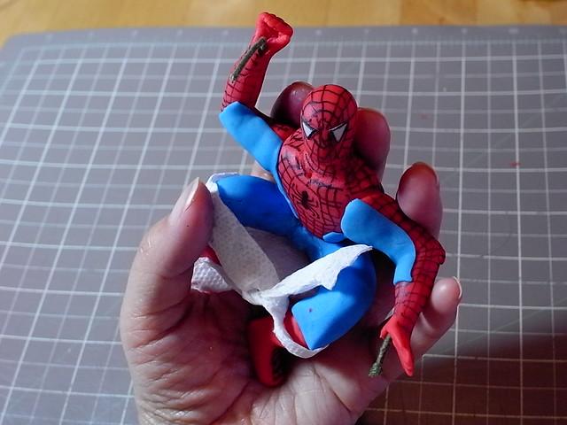 Spider Man Fondant Figure I Was In Super Hurry When I