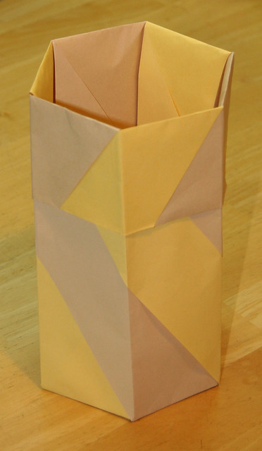 ORIGAMI VASES POTS And BOWLS