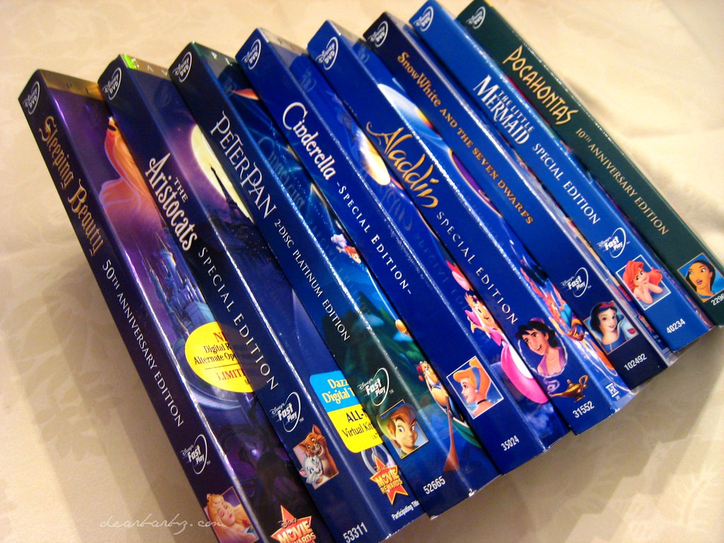 Disney DVDs | ...a slowly growing collection :) | Barb Watson | Flickr