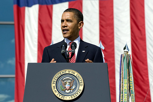 President Barack Obama speaks at Fort Hood memorial ceremony | by The U.S. Army
