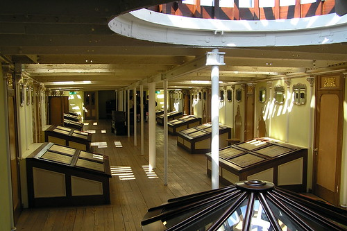 Ss great britain inside upper deck inside upper deck of for Great british interior design