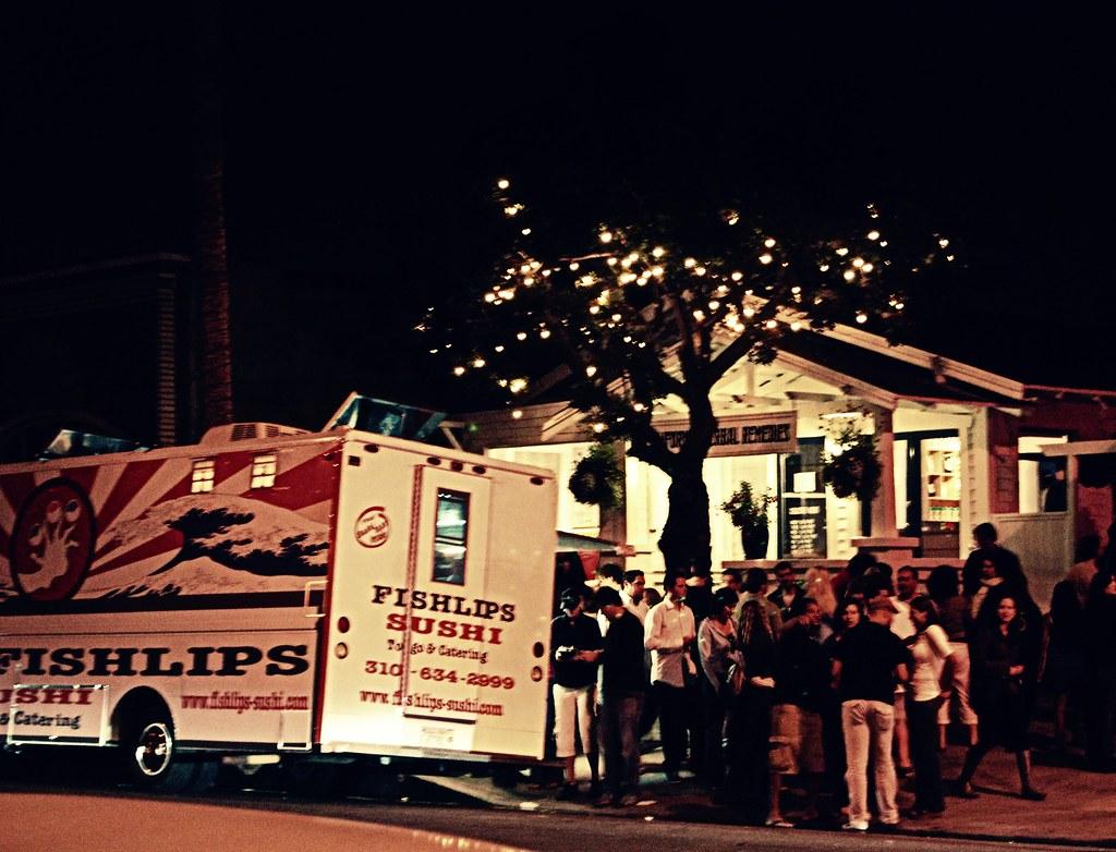 First Friday Abbot Kinney Food Trucks