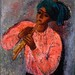 The Flute Player (Painting)