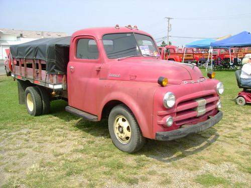 1953 Dodge Job-Rated Flatbed   Carlisle All-Chrysler ...  1953 Dodge Flatbed Truck