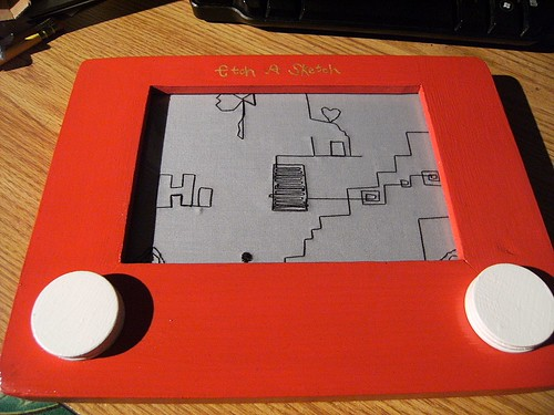 What do you do with an Etch-A-Sketch? | by shaebay