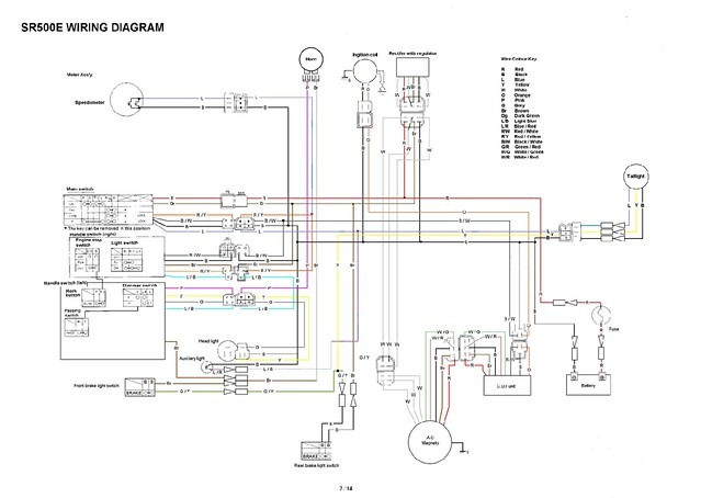yamaha sr xt tt simple wiring diagrams flickr ibanez guitar wiring sr500 wiring diagram #1