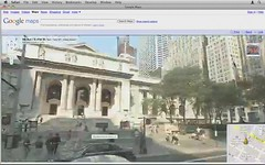NYC drive, via Google Street view