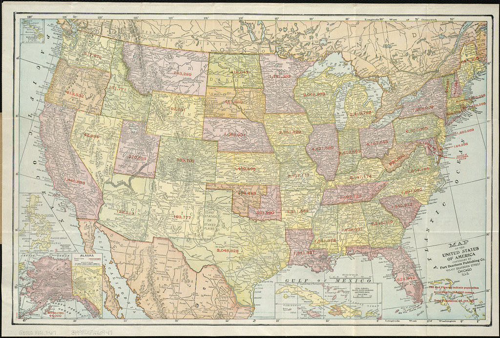 Map of the United States of America Zoom into this map at – Travel Map Of The United States