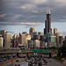 chicago skyline section - c1024