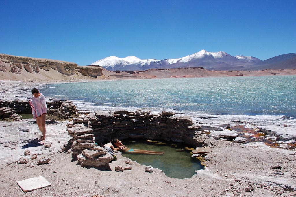 Termas Laguna Verde.