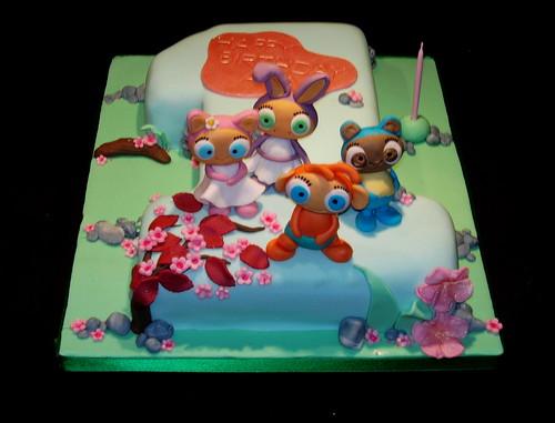 Avas 1st Birthday Waybuloo Cake Ava S 1st Birthday