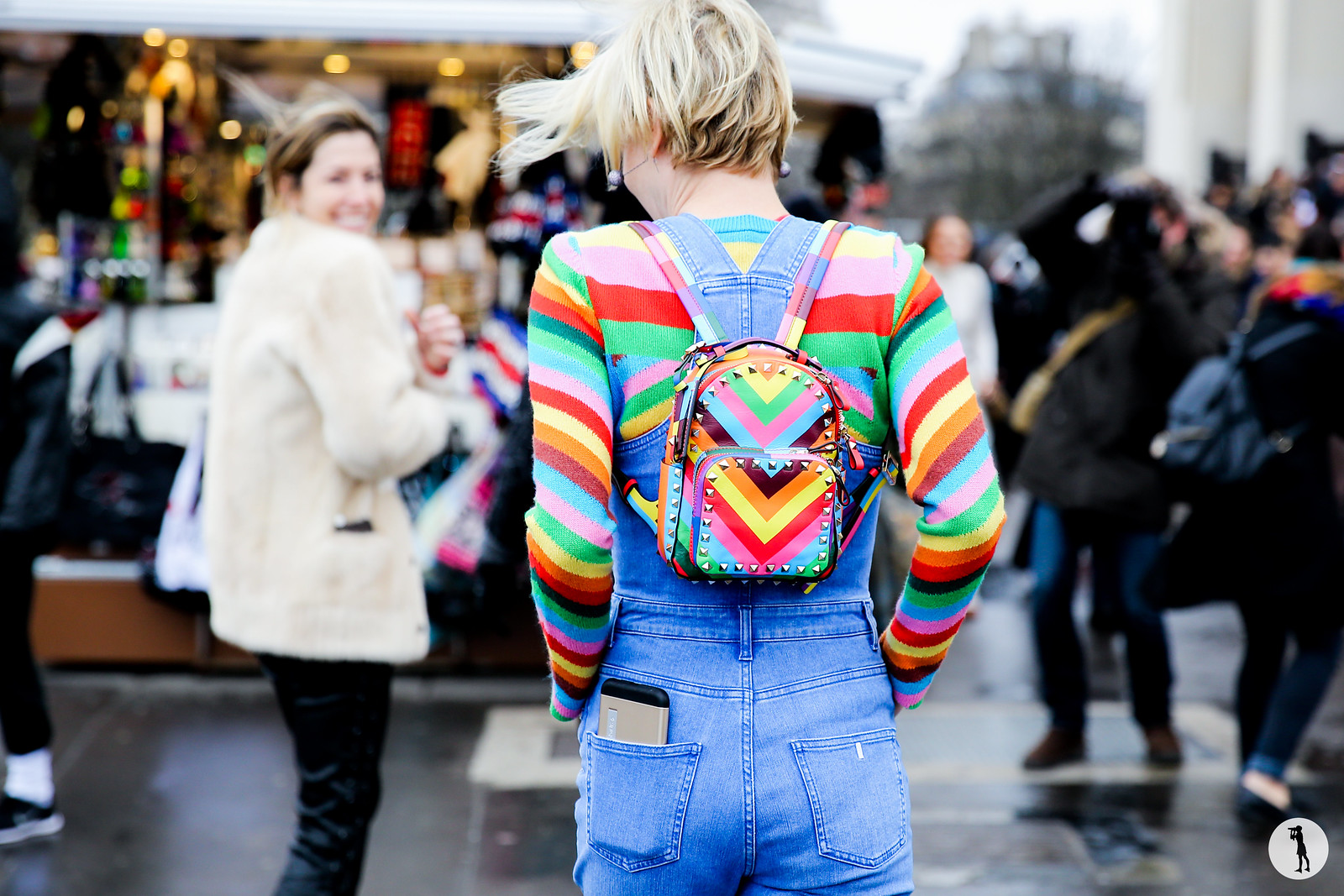 Street style - Paris fashion week HC SS15 (2)