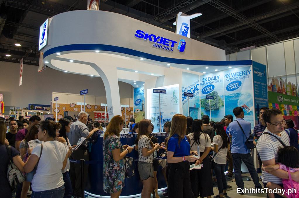 Skyjet Trade Show Display
