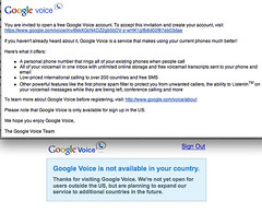 You've been invited to Google Voice...oh you don't live in the US | by Terinea IT Support