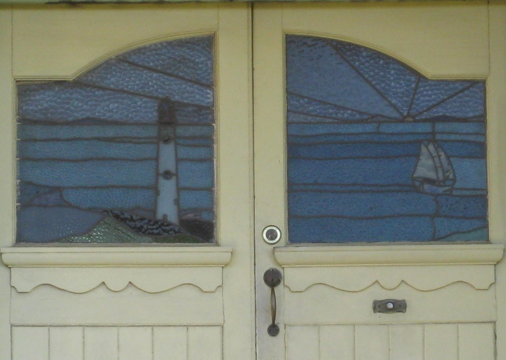 Nautical Stained Glass Double Doors Melbourne An Unusual Flickr