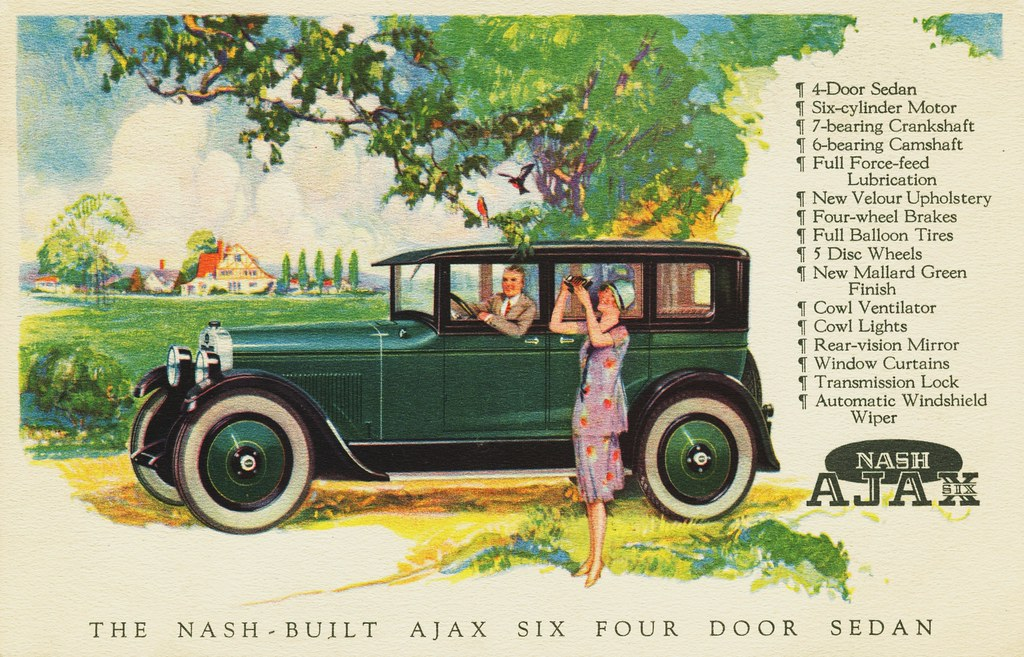 1926 nash ajax six 4 door sedan alden jewell flickr for 1927 nash 4 door sedan