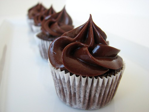 MSC Chocolate Salted Caramel Cupcakes | by Tracey's Culinary Adventures