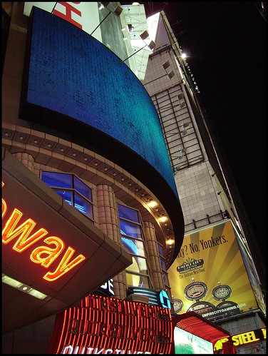 Night in Times square;NYC | by norvegia2005sara