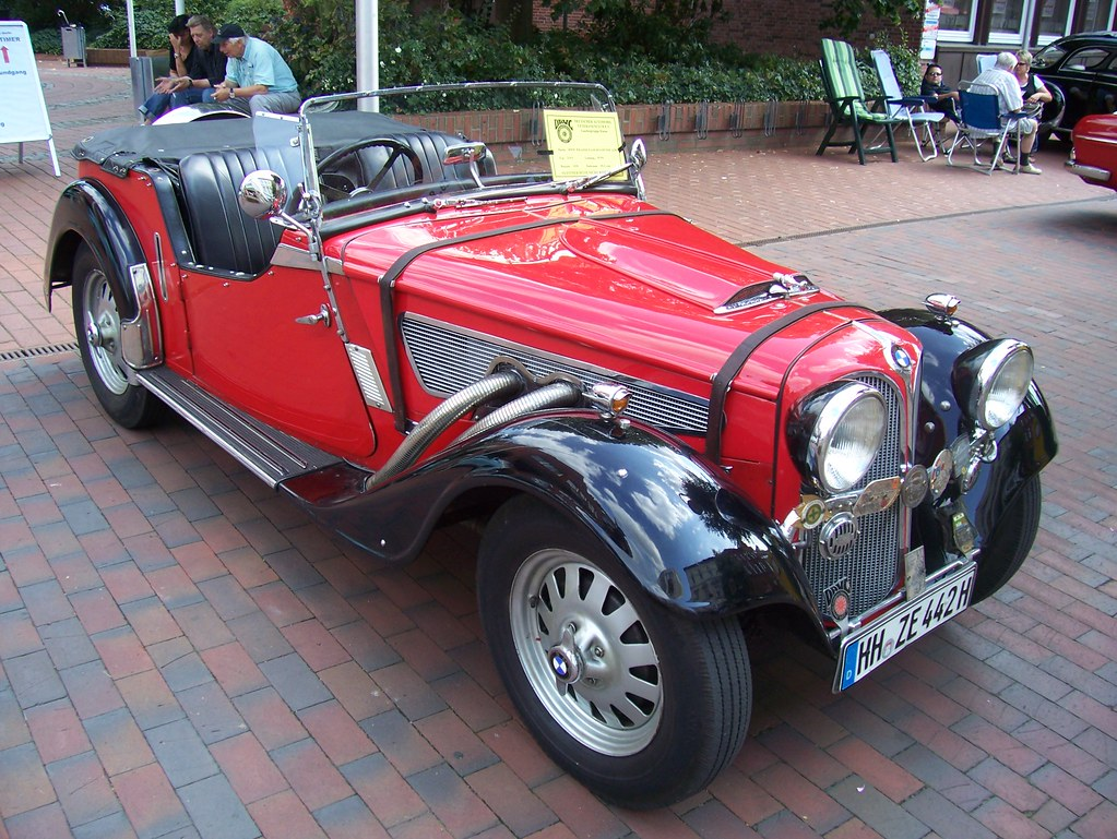 Frazer-Nash-BMW 319/1 Roadster 1935 -1- | Winsen 2009 - This… | Flickr