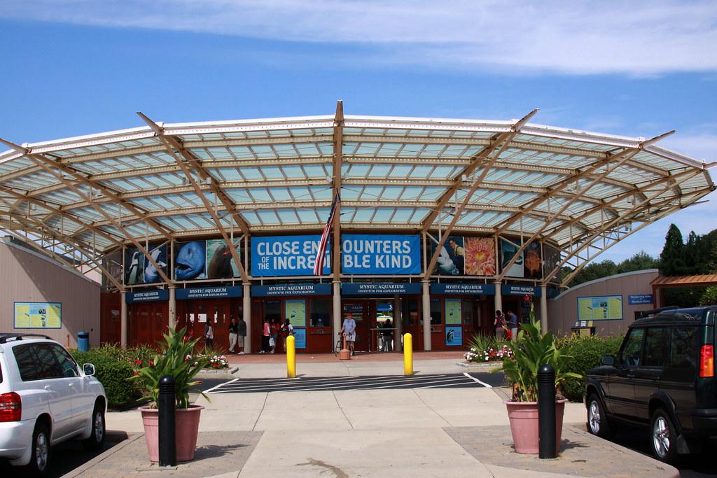 Mystic Aquarium Entrance The Mystic Aquarium Institute