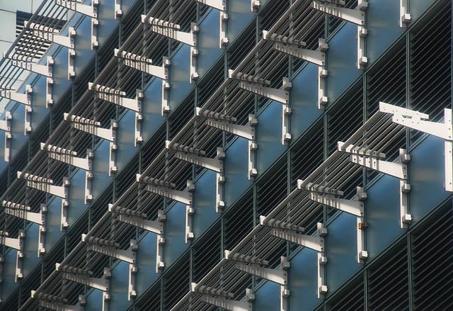 sunshade rhythmic patterns on a building 39 s facade al. Black Bedroom Furniture Sets. Home Design Ideas