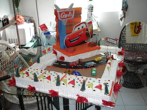 Bizcocho cumpleanos infantil the cars 1 dulcelsita 39 s - Bizcochos cumpleanos infantiles ...