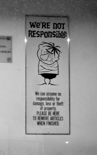 we're not responsible | by jasoneppink