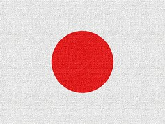 Japan's Flag Looking Like Canvas | by Chrisser