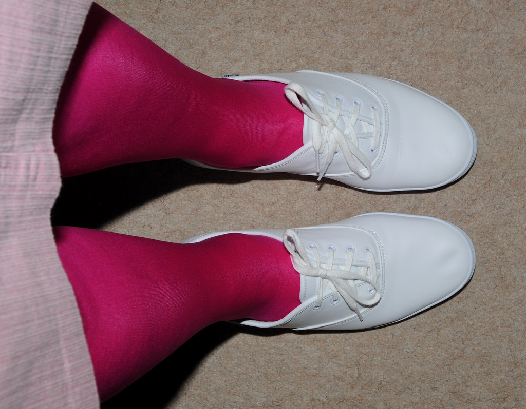 Keds And Pink Tights I Love Pink Louise Richards