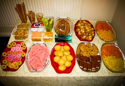 Snack Table Alex Hubbard Flickr