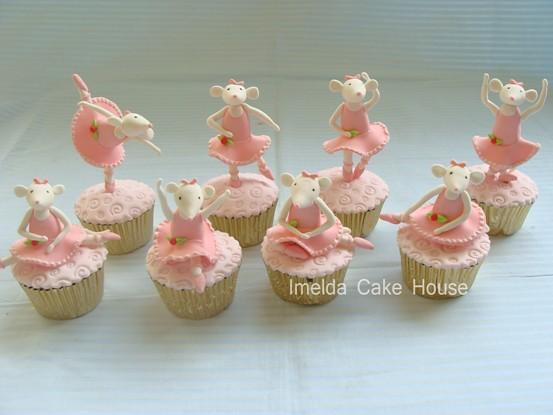 Angelina Ballerina Cakes To Make