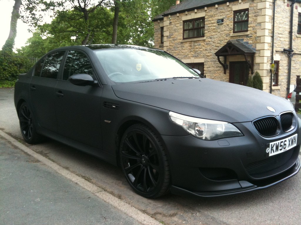 Matte Black Bmw E60 M5 Replica Some Pictures From An