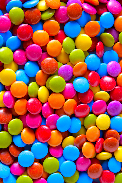 Smarties Galore Entry for Stobist Bootcamp I decided on