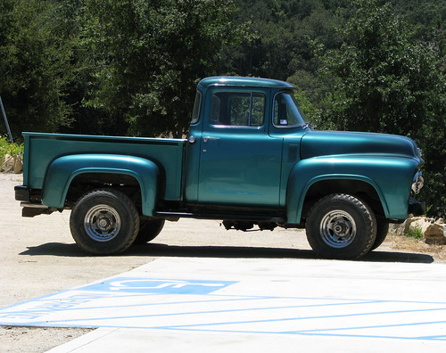 Vintage Pickup Truck Rocky Creek Cellars Pete Davis