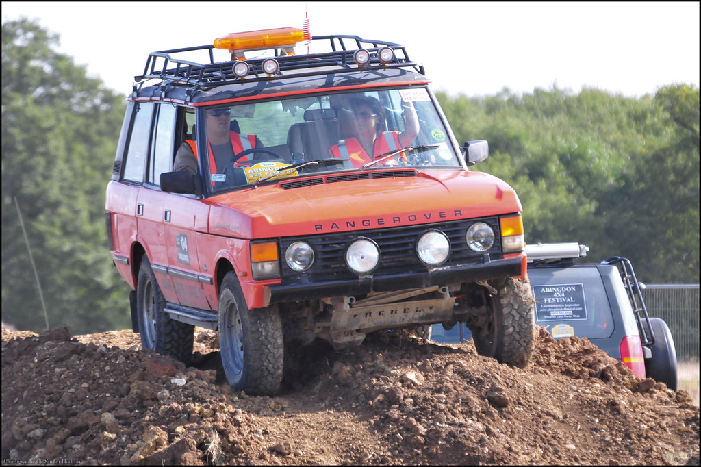 Range Rover Classic >> Off Road Power Santa Pod - Range Rover Classic | Si | Flickr