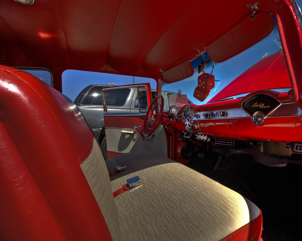 Chevy Interior HDR Perkins Car Show Flickr - Thomas chevy car show