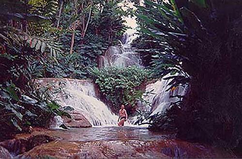 the enchanted garden ocho rios jamaica circa 1995