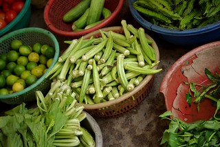 Okra, Limes and Cucumber - Cycling In Saigon | by The Hungry Cyclist