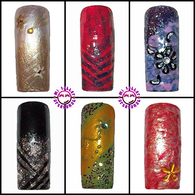 mis uñas decoradas (tips) 2 | Flickr - Photo Sharing!