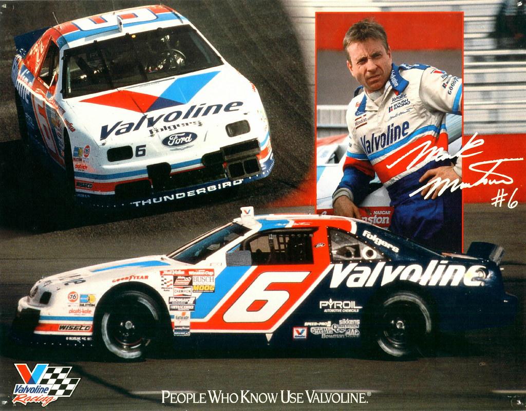 1993 Mark Martin Valvoline Ford Thunderbird | David Rider ...