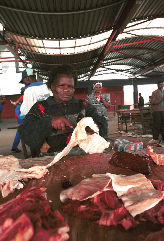 gugulethu township central meat market eskom funded cape f. Black Bedroom Furniture Sets. Home Design Ideas