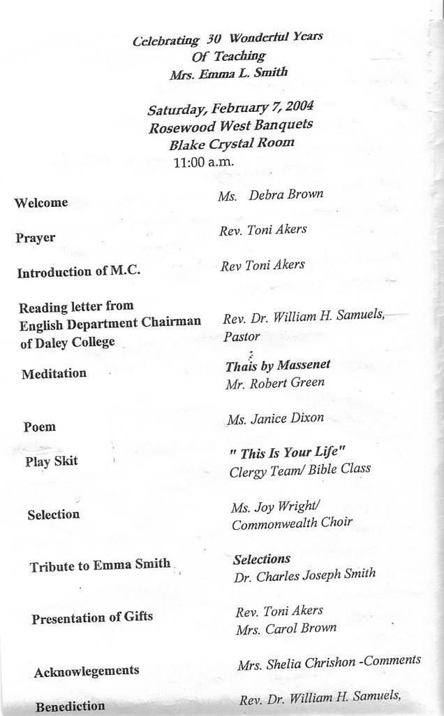 Retirement Party Program 2-7-2004 | charlessmith702210 ...