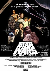 Photoshopped Star Wars Holiday Special DVD cover | by Paxton Holley